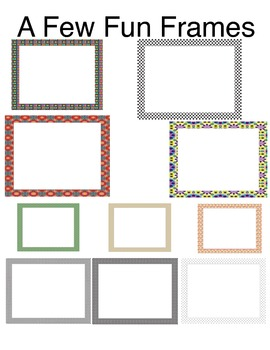 10 Fun Frames