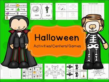 10 Halloween Activities/Centers/Games