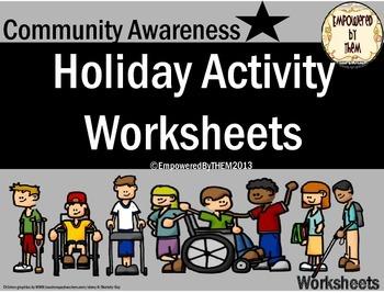 10 Holiday Activity Worksheets