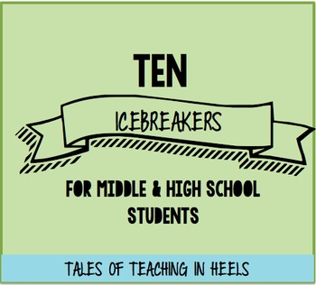 10 Icebreakers for Middle and High School Students