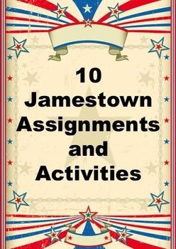 10 Jamestown Assignments and Activities