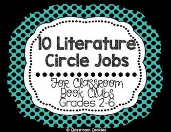 10 Literature Circle Jobs