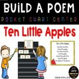 Build a Poem ~ 10 Little Apples - Pocket Chart Center