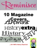 10 MAGAZINE COVERS of all history types