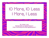 10 More, 10 Less Math Center Game: CCSS Aligned