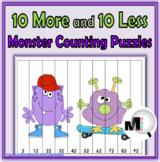10 More 10 Less - Monster Math