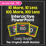 10 More, 10 Less/100 More, 100 Less Interactive PowerPoint