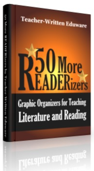 10 More READERizers (Graphic Organizers for Literature and