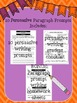 PERSUASIVE Paragraph Writing Prompts