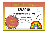 NUMBER FACTS GAME - SPLAT 10 - a game to learn the RAINBOW