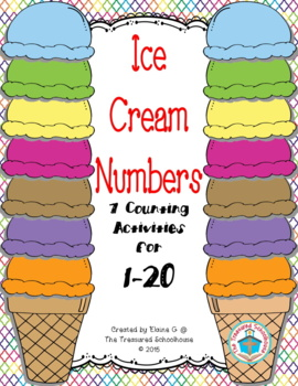 Ice Cream Counting 0-10 Strips or Cards