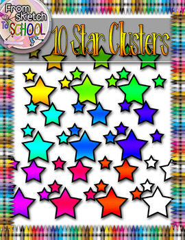 10 Star Clusters {From Sketch to School}