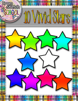 10 Vivid Stars {From Sketch to School}