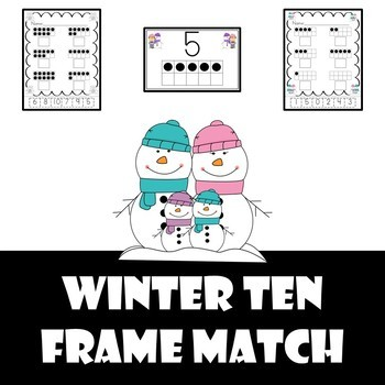 10 frame number matching cut and paste activity (1-10) Win