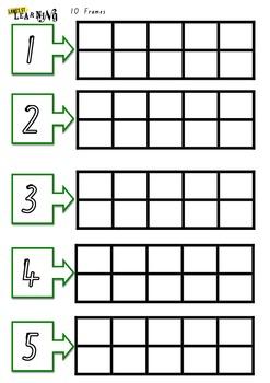 10 frames 1-5 Foundation Font