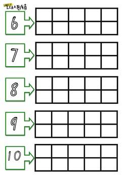10 frames 6-10 Foundation Font
