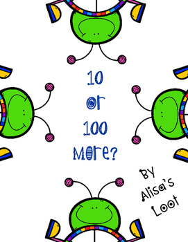 10 or 100 More?  An Addition Game