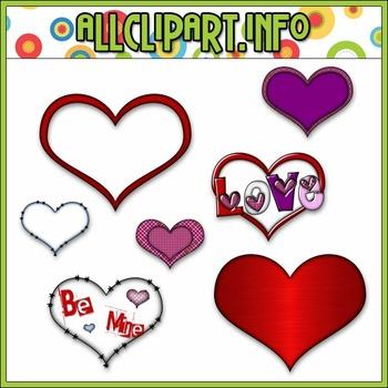 $1.00 BARGAIN BIN - Hearts, Hearts & More Hearts Clip Art