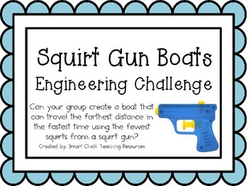 Squirt Gun Boats: Engineering Challenge Project ~ Great ST