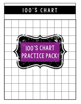 100 Chart Practice Pack -- The Almost Free Files