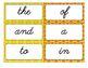 100 Cursive Word Flash Cards - Word Wall, HFWs, Fry