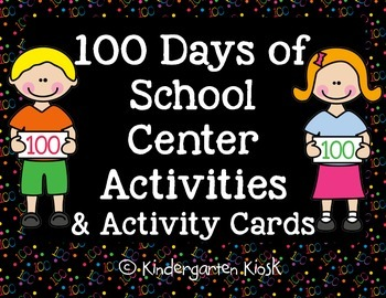 """100 Day Activity """"I Can"""" Activities"""