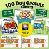 100 Day Crowns & Activity Set