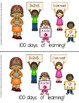 100th Day Early Emergent Reader; 2 Versions PLUS Word & Pi