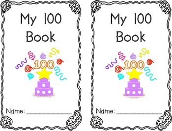 100 Day Writing Book