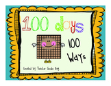 100 Days of School {Celebrate 100 days, 100 ways!}