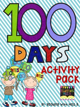 100 Days Of School - Full Activity Packet