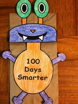 100 Days Smarter Monster Puppet