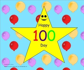 100 Days Smarter (Smartboard Fun)
