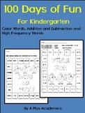 Kindergarten 100 Days of Fun