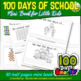 100 Days of School Mini Book For Little Kids