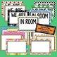 Door Signs for Back to School Middle & High School, Includ
