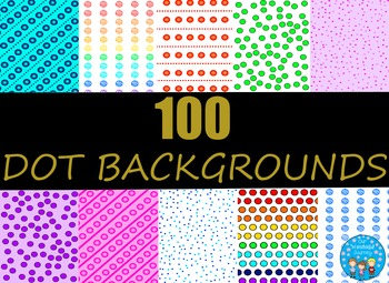 100 Dot Backgrounds