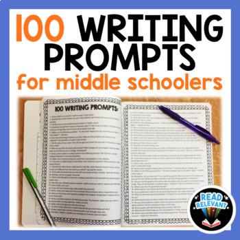 100 High-Interest Writing Prompts for Middle School