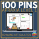 100 Hole Punches: Apraxia & Severe Phonological Disorders