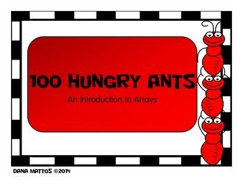 100 Hungry Ants Array Activity