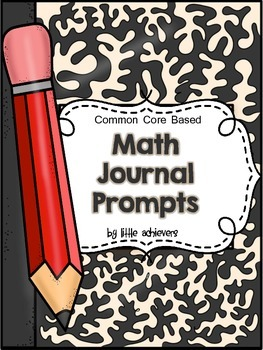100 Math Journal Prompts