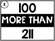 100 More / 100 Less Less Task Cards {3-Digit Numbers)