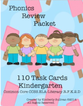 Sight Words Morning Work Phonics Bundle 100 Worksheets and