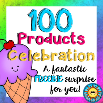 100 Products Celebration! A fantastic FREEBIE surprise for you!
