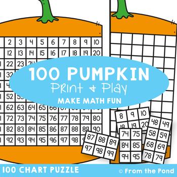 100 Chart Activity {Pumpkin}