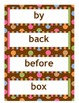 100 Sight Words Word Wall Words - Dots on Chocolate