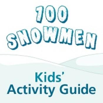 100 Snowmen Kids' Activity Guide ages 6-8