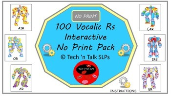 100 Vocalic Rs Interactive No Print Pack