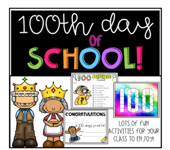 100 days of school fun!