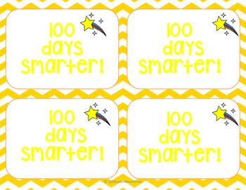 100 Days Smarter Tag